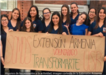 Voluntariado Transformarte en la Extensión Armenia